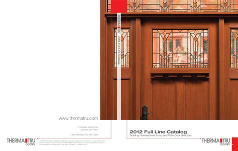 thermatru catalog 2011 by danvoy llc glenview doors