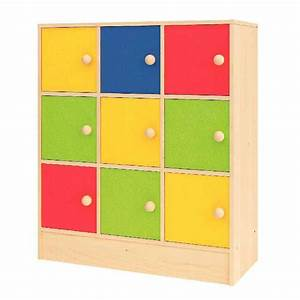 Meuble Rangement Case : meuble de rangement 9 cases nowa szkola meuble de rangement sur planet eveil ~ Teatrodelosmanantiales.com Idées de Décoration