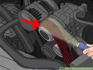 How To Put On An Alternator Belt  With Pictures