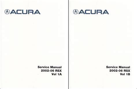online car repair manuals free 2006 acura rsx 2006 acura rsx owners manual original
