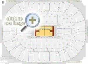 Honda Center Seat  U0026 Row Numbers Detailed Seating Chart