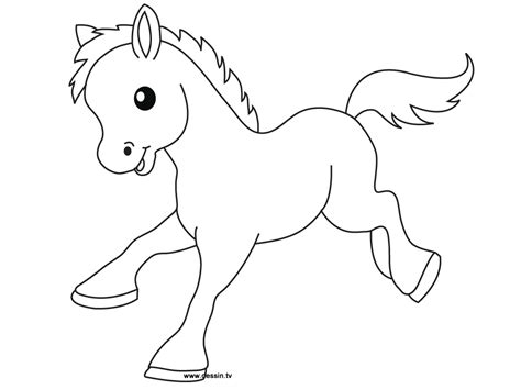 Cute Baby Pony Coloring Pages Coloring Pages