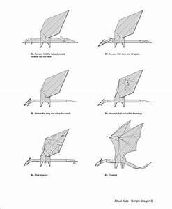 Shuki Kato Simple Dragon Instructions  Amazing Origami