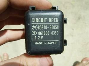 Circuit Opening Relay Wiring