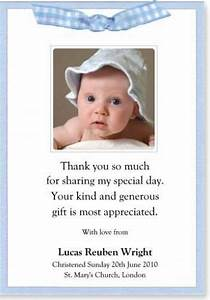thank you notes for baptism christening sample thank you With thank you letter for baptism