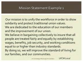 Mission Statement Exles by Mission Statement Examples Alisen Berde