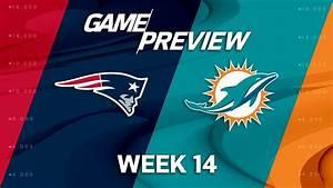 New England Patriots vs Miami Dolphins 12-09-18, NFL ...