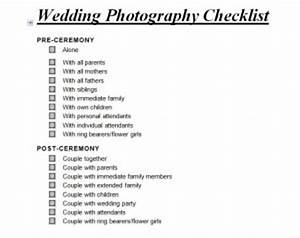 Wedding photography checklist wedding photography for Wedding shot list