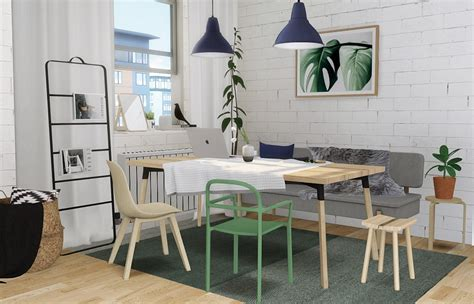 ikea ypperlig dining  mxims liquid sims