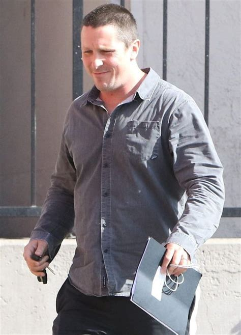 Christian Bale Gaining Some Serious Weight Play Dick