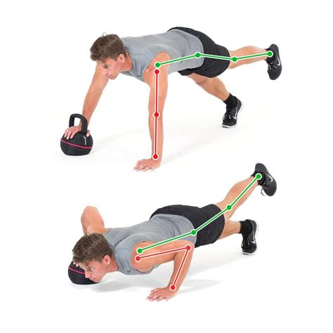 push leg kettlebell chest arm exercise exercises triceps arms table long abs ex training gymbox