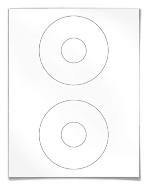 blank labels  cd dvd disk labeling