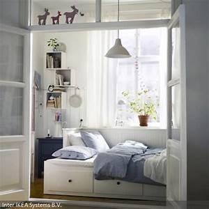 Gästezimmer Einrichten Ikea : prima idee f r kleine r ume g stezimmer mit charme gesehen bei ~ Buech-reservation.com Haus und Dekorationen