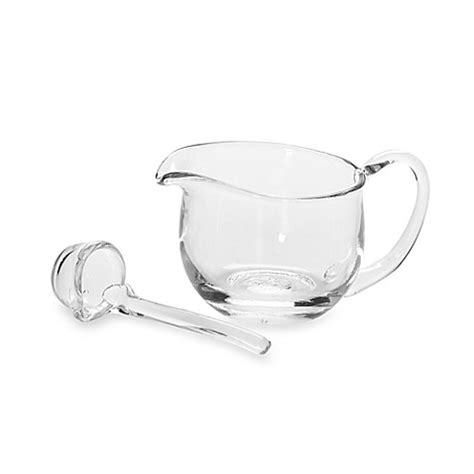 Gravy Boat And Ladle Set by 6 Quot Gravy Boat With Ladle Bed Bath Beyond