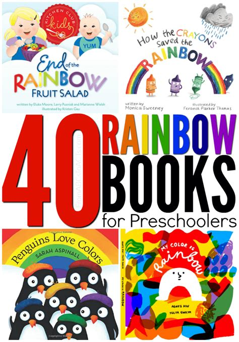 40 rainbow books for from abcs to acts 183 | Rainbow Books for Preschoolers