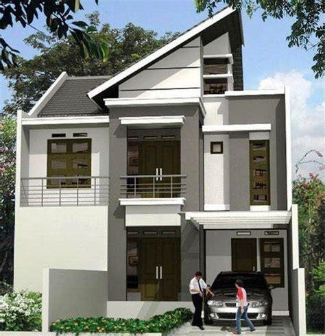 ツ 75 model desain rumah minimalis 2 lantai sederhana