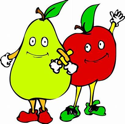 Cartoon Vegetables Fruits Fruit Clipart Animated Cliparts