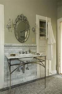 Carrera subway tile kitchen traditional with backsplash for Pictures of traditional bathrooms
