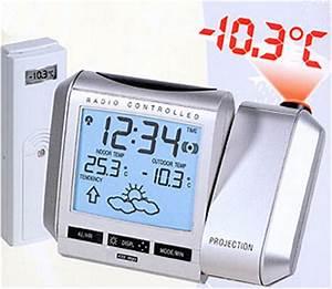 Radio Controlled Uhr Bedienungsanleitung : funk thermometer funk projektionsuhr funk wanduhr ~ Watch28wear.com Haus und Dekorationen