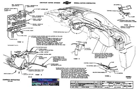 57 chevy belair wiring diagram get free image about