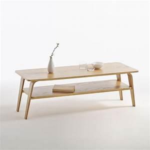 Table De Salon La Redoute : table basse double plateau jimi ch ne la redoute interieurs la redoute ~ Voncanada.com Idées de Décoration