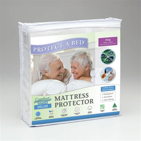 protect a bed mattress protector protect a bed comfortshield deluxe terry towelling bedding