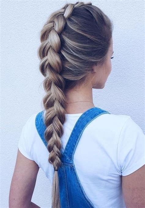 17 best ideas about loose braid hairstyles on pinterest