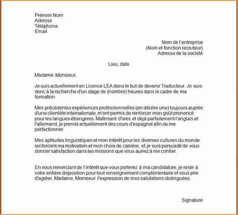 lettre de motivation auxiliaire de bureau 9 lettre de motivation pour demande de stage exemple