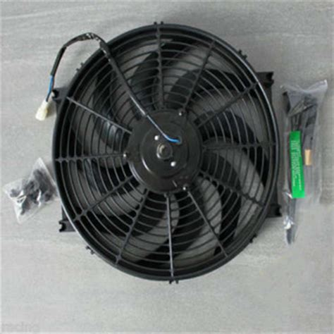 electric radiator fan kit intercooler system for mazada 14 quot 12v 160w electric