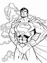 Coloring Superhero Sheets Books Flash Sheet Superman Forkids Examples Power sketch template