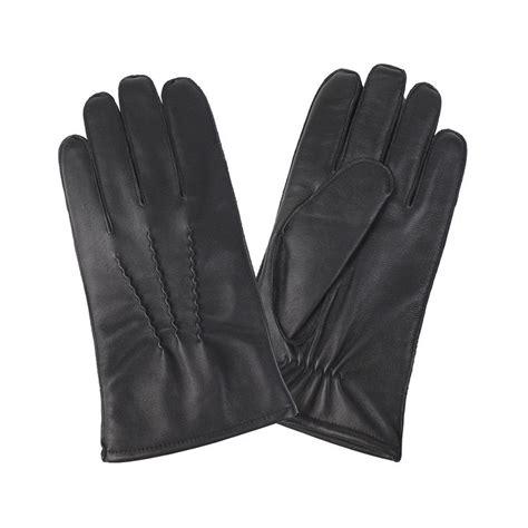 Handskar herr skinn
