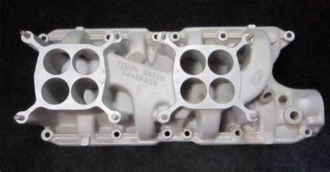 ford fomoco    dual quad intake manifold