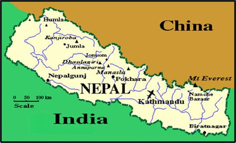 CARTE NEPAL 1 EXOTIC TREKS AND EXPEDITION