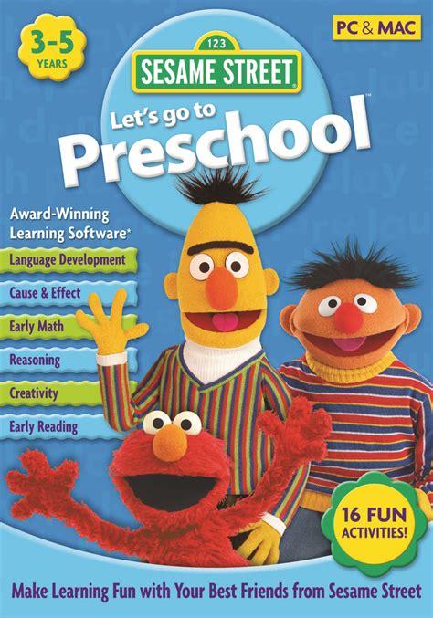 sesame let s go to preschool mac amp win 536   SSLPMacWin Print dob