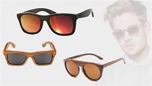 Lunette De Soleil Pour Homme : mode homme les lunettes de soleil en bois sont tendances ~ Voncanada.com Idées de Décoration