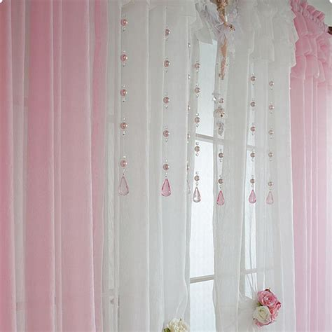 Light Pink Ruffle Curtains by Ruffle Curtain