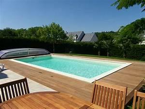 Eclairage Exterieur Piscine : terrasse bois exterieur piscine diverses ~ Premium-room.com Idées de Décoration