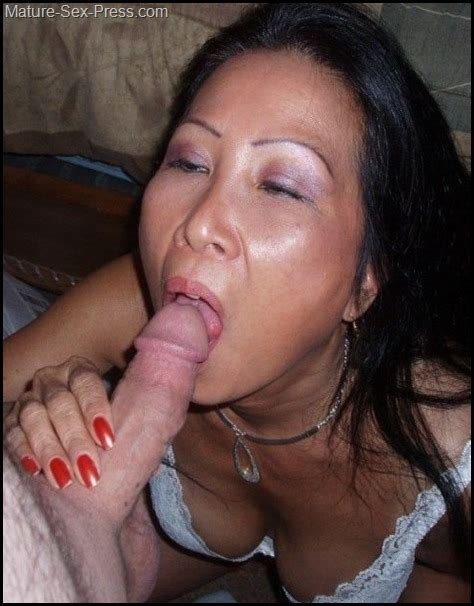 Asian Milf Is Doing An Interracial Fellatio Mature Sex Press