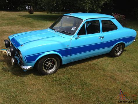 ford escort mk rs  olympic blue