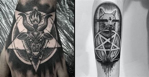 Tattoos of the Sigil of Baphomet — the Insignia of the ...