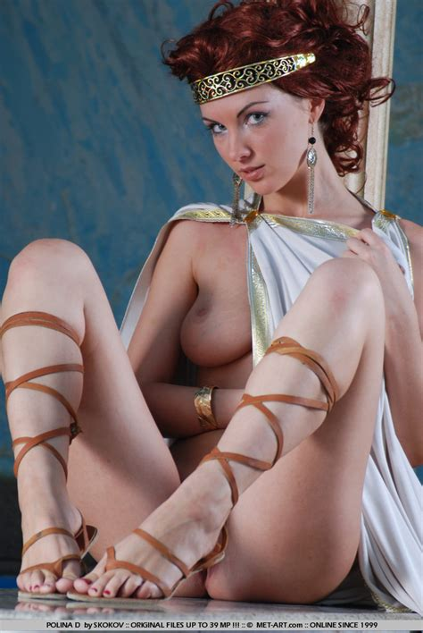 Greek Goddess Sexy Cosplay Luscious