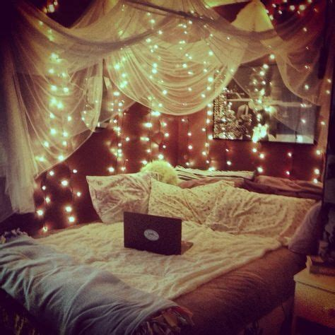 Lichterketten Deko Ideen Schlafzimmer