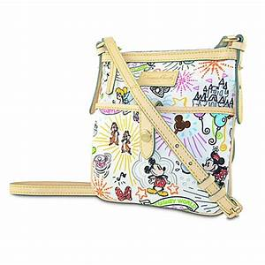 your wdw store disney dooney bourke bag sketch With disney sketch nylon letter carrier bag by dooney bourke