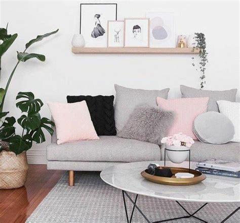 deco salon super idee deco salon gris  blanc couleur