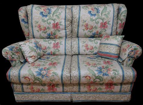 canapé en plume canapé 2 places anglais tissu fleur hamilton longfield 1880
