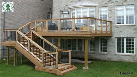 design   deck elevated deck designs  stairs deck