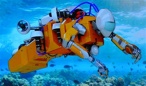 Stanford's Humanoid Diving Robot Takes On Undersea
