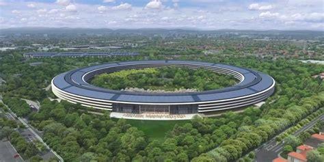 siege d apple vidéo cus apple découvrez la première vue 3d du bâtiment