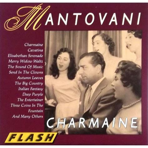 Orchestra Mantovani Charmaine 16 Tracks By Mantovani Orchestra Cd With