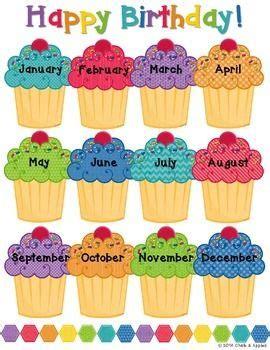 birthday display birthday cupcakes  images